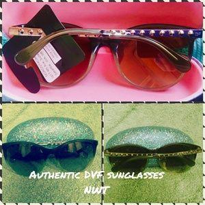 Diane Von Furstenberg chic sunglasses